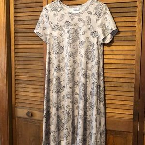 Paisley Gray Small LulaRoe Carly